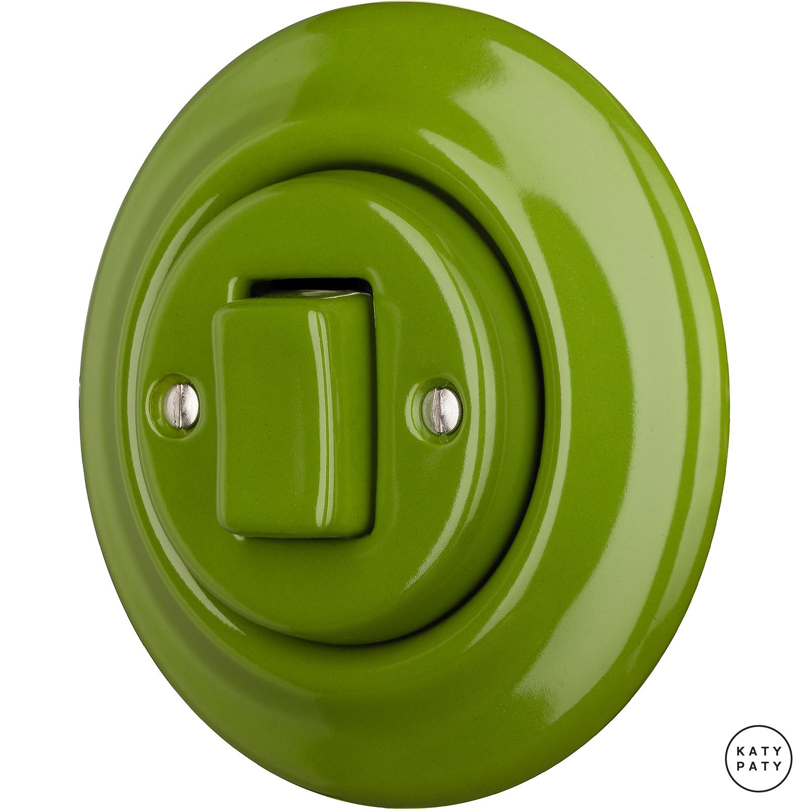 Porcelain switches - 1 key - FAT ()  - NITOR CHLORA | Katy Paty