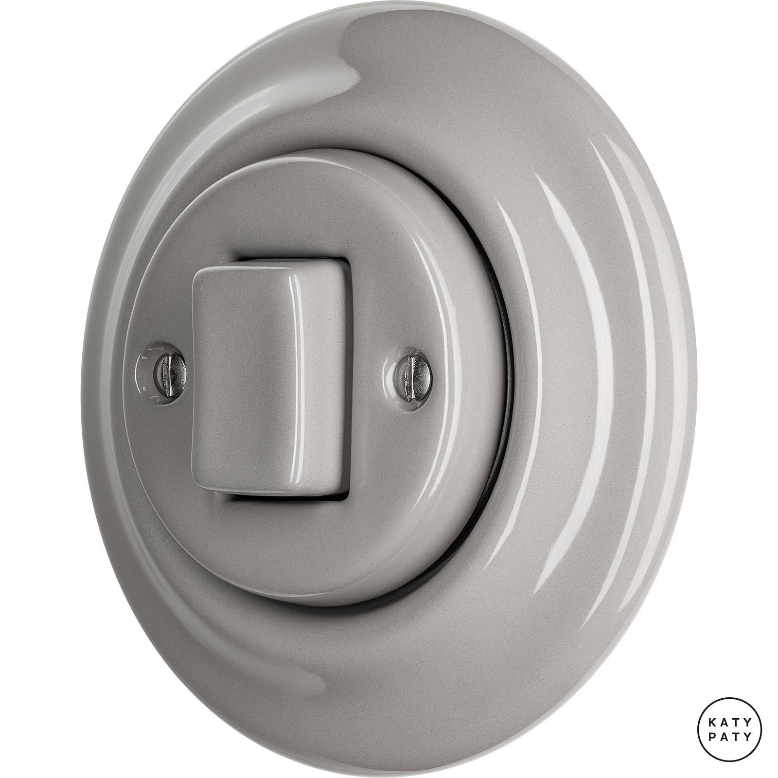 Porcelain switches - 1 key - FAT ()  - LUCIDUM | Katy Paty