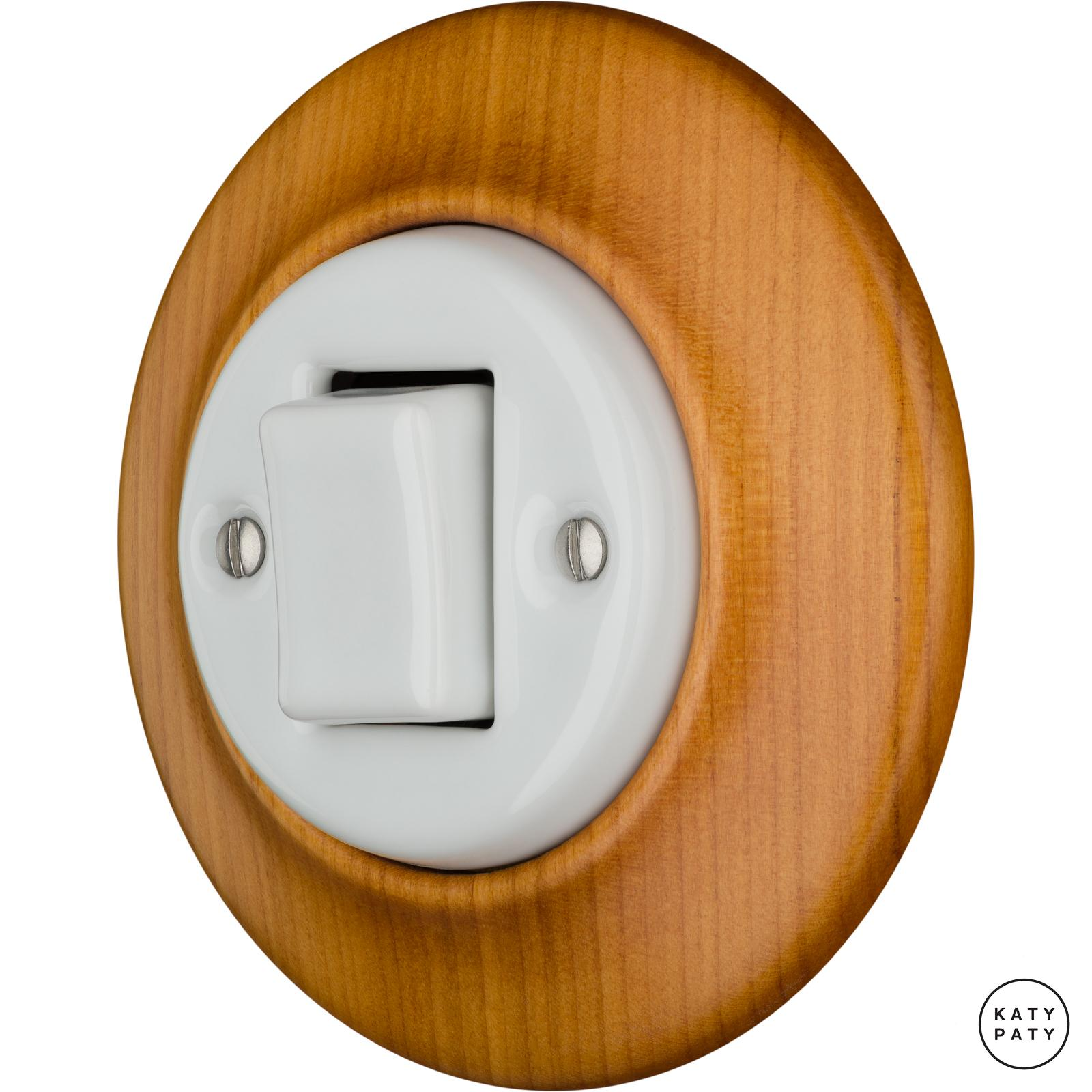 Porcelain switches - 1 key - FAT ()  - PADELUS | Katy Paty