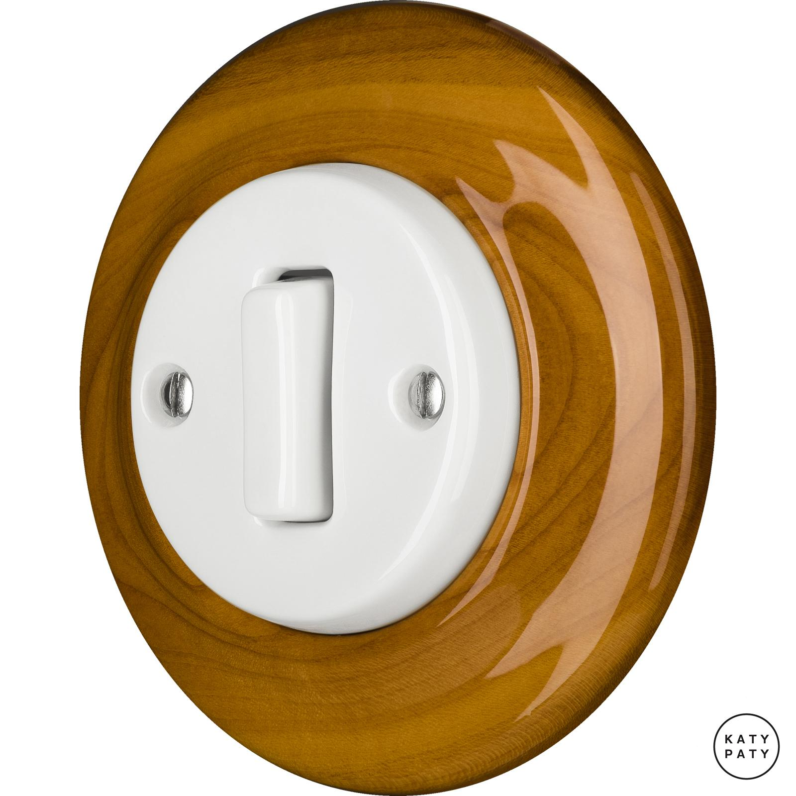 Porcelain switches - a single gang - SLIM ()  - PADELUS | Katy Paty