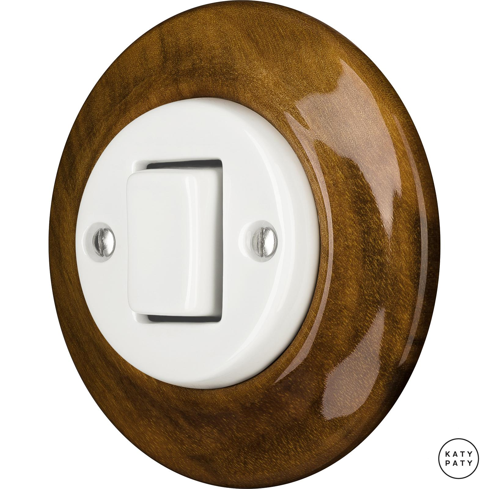 Porcelain switches - 1 key - FAT ()  - NUC MAG | Katy Paty