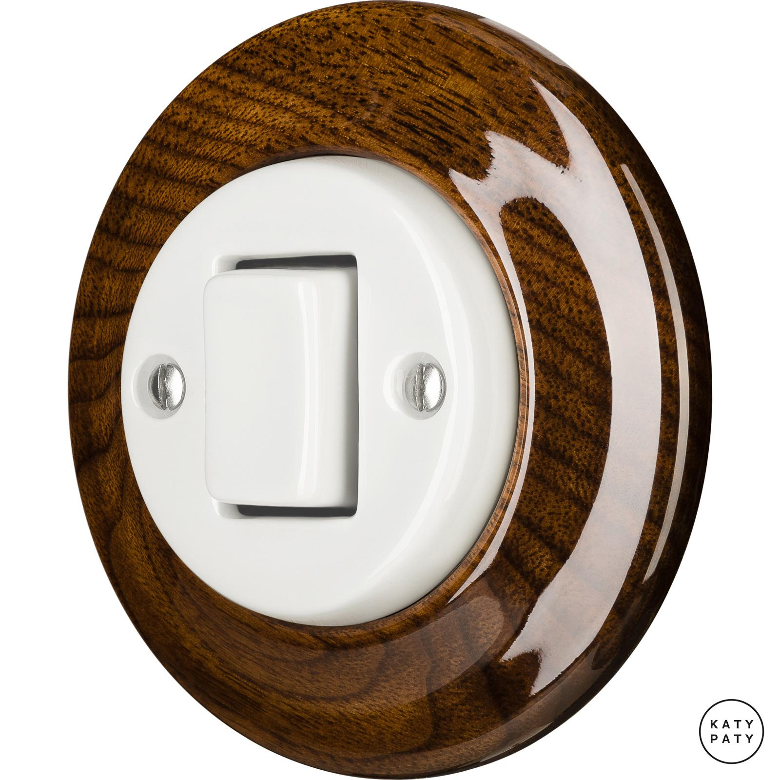 Porcelain switches - 1 key - FAT ()  - NUCLEUS | Katy Paty