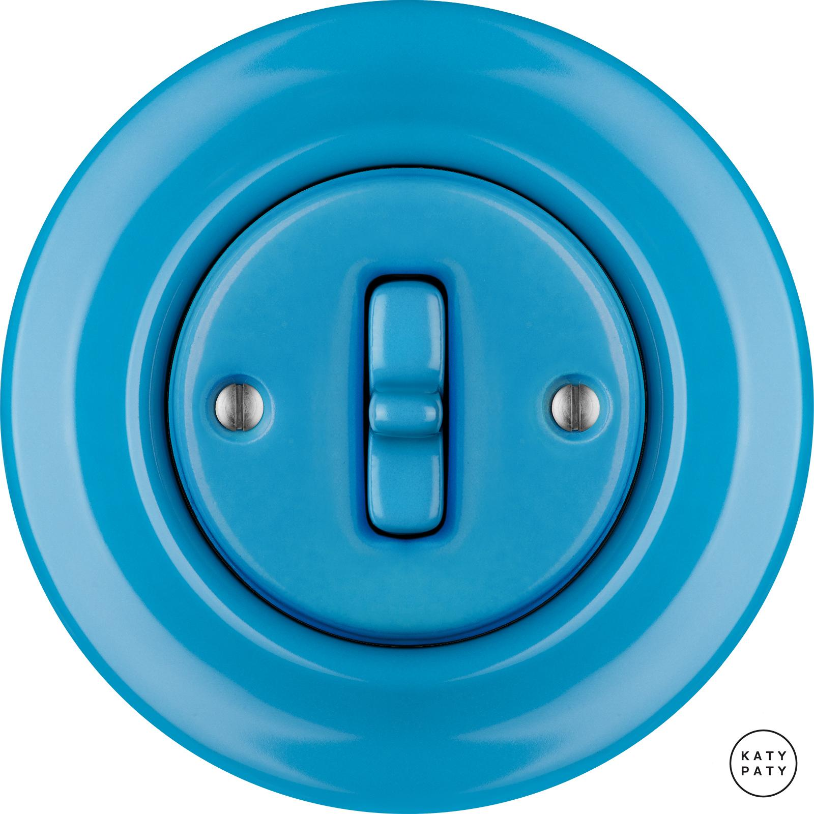 Porcelain Toggle switches - 1 gang ()  - NITOR ARA | Katy Paty
