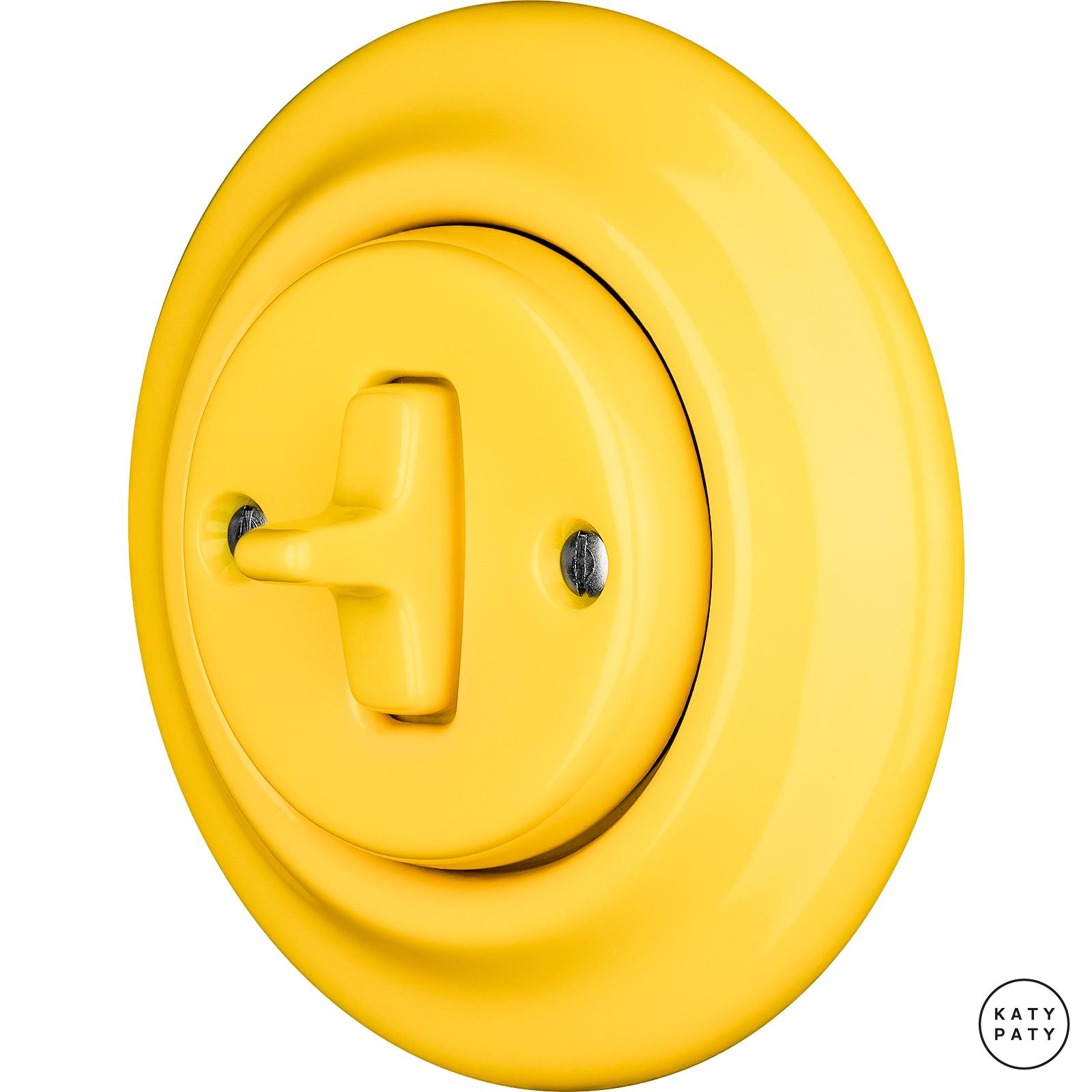 Porcelain Toggle switches - 1 gang ()  - NITOR LUTEA | Katy Paty