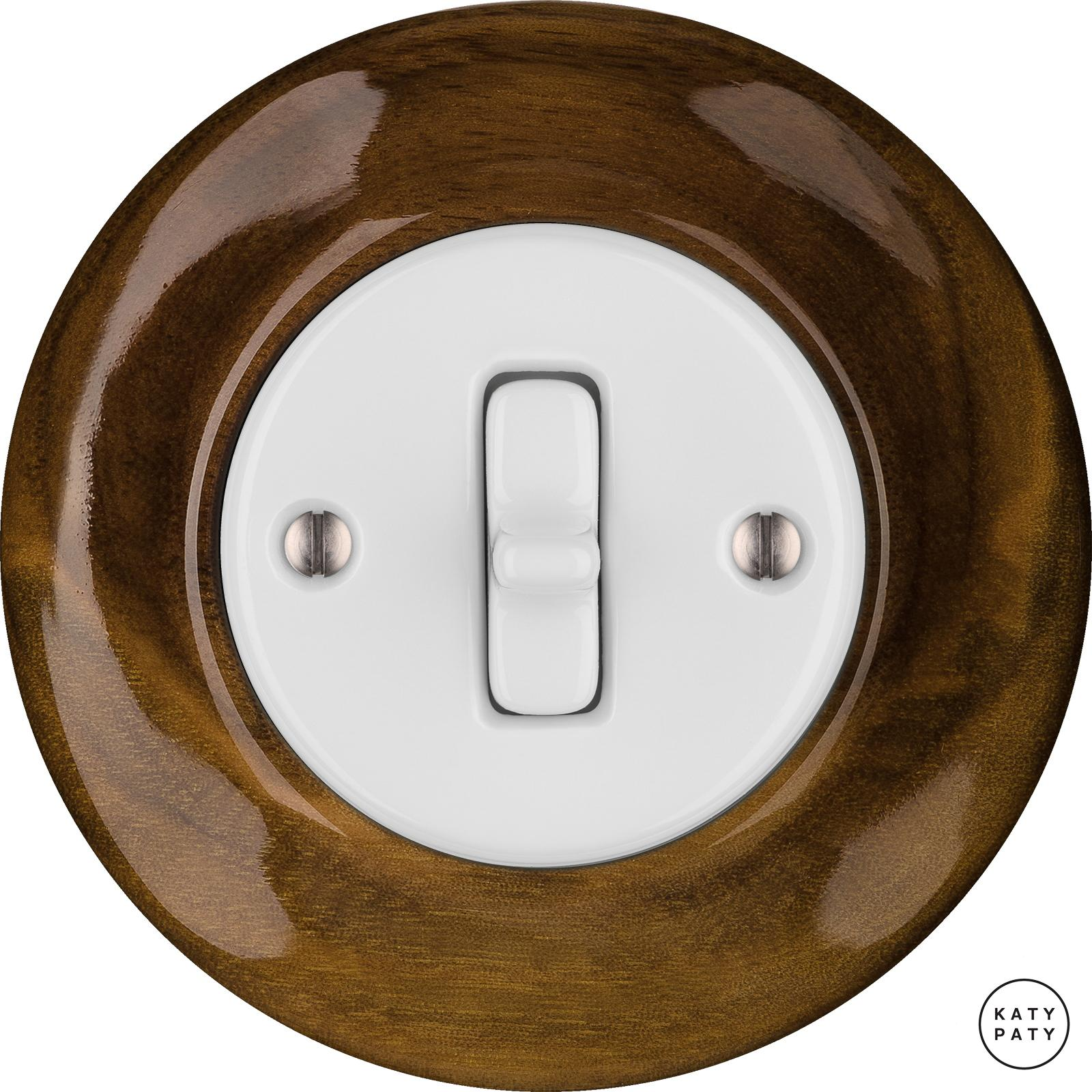 Porcelain Toggle switches - 1 gang ()  - NUC MAG | Katy Paty