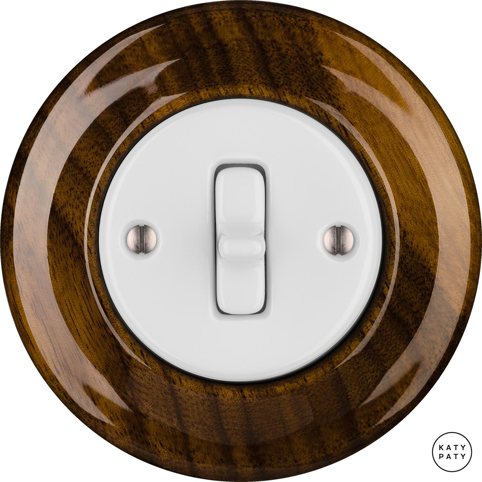 Porcelain Toggle switches - 1 gang ()  - NUCLEUS | Katy Paty