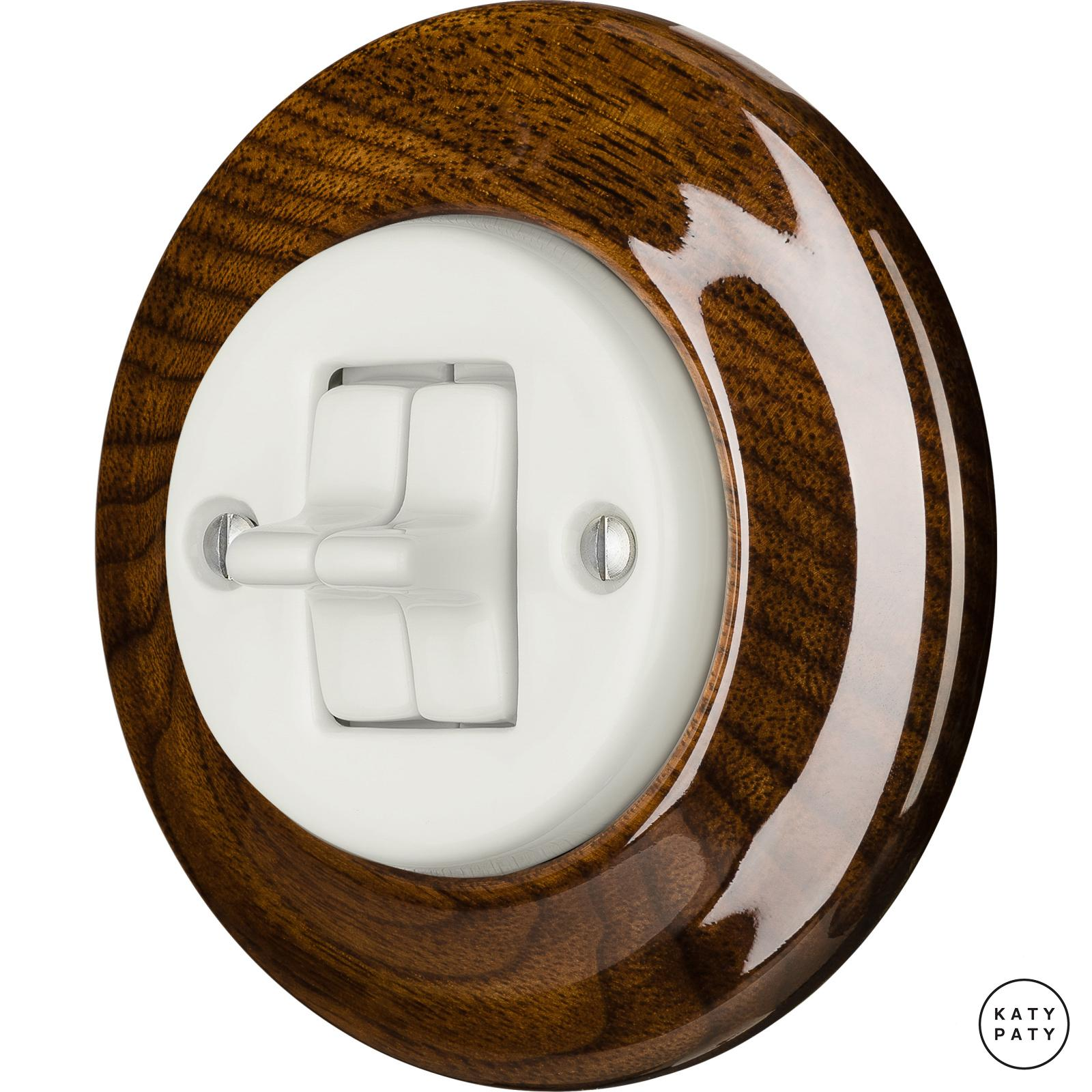 Porcelain toggle switches - a 2 gang ()  - NUCLEUS | Katy Paty