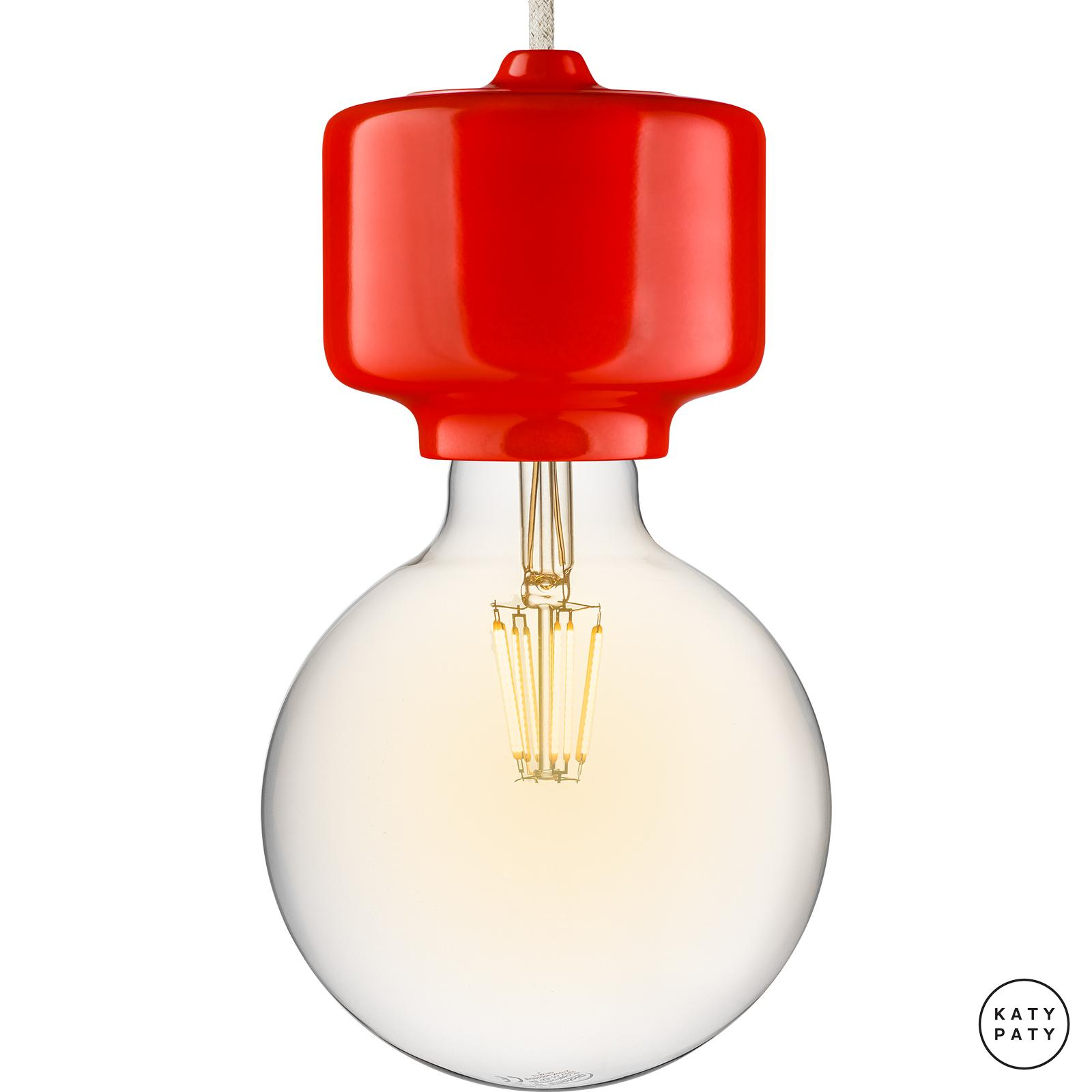 Porcelain lamps - ROTO ()  - NITOR ROSEA | Katy Paty