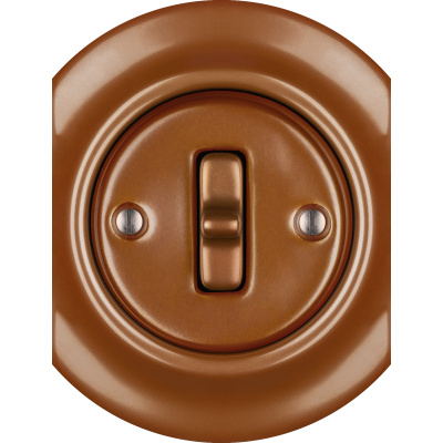 Porcelain Toggle switches - 1 gang - multiple X ()  - CUPRUM | Katy Paty