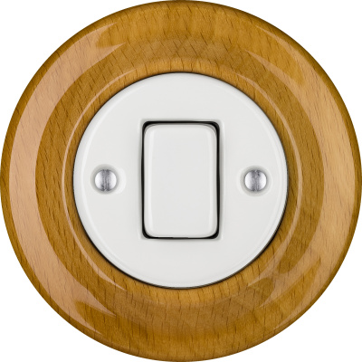 Porcelain switches - 1 key - FAT ()  - FAGUS | Katy Paty