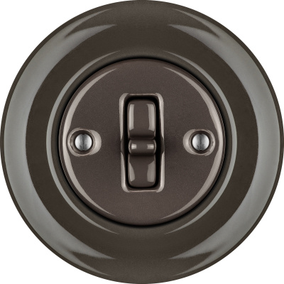 Porcelain Toggle switches - 1 gang ()  - BRUNETUM | Katy Paty