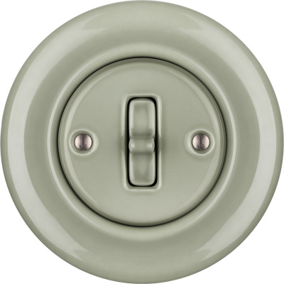 Porcelain Toggle switches - 1 gang ()  - CHLORA | Katy Paty
