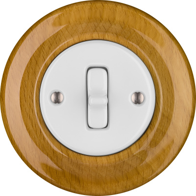 Porcelain Toggle switches - 1 gang ()  - FAGUS | Katy Paty
