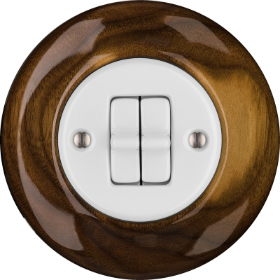 Porcelain toggle switches - a double gang ()  - NUC MAG | Katy Paty