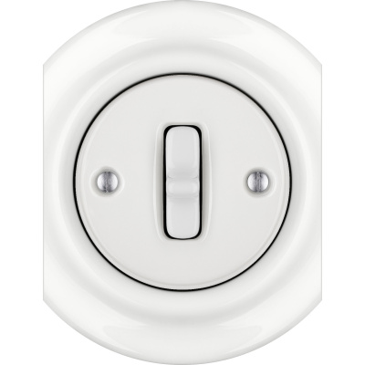 Porcelain Toggle switches - 1 gang - multiple X ()  - ALBA | Katy Paty
