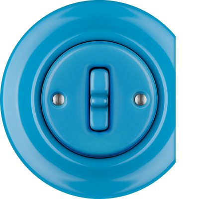 Porcelain Toggle switches - 1 gang - multiple X ()  - NITOR ARA | Katy Paty