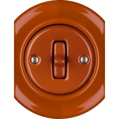 Porcelain Toggle switches - 1 gang - multiple X ()  - AURANTIA | Katy Paty