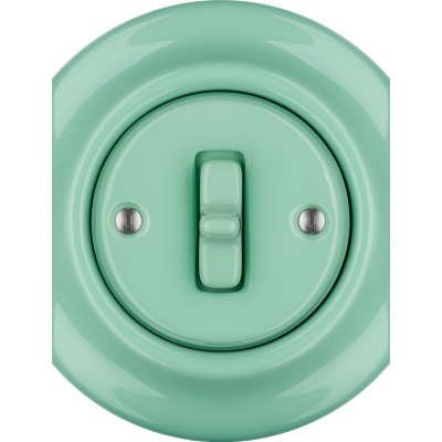 Porcelain Toggle switches - 1 gang - multiple X ()  - PNOE MENTOL | Katy Paty