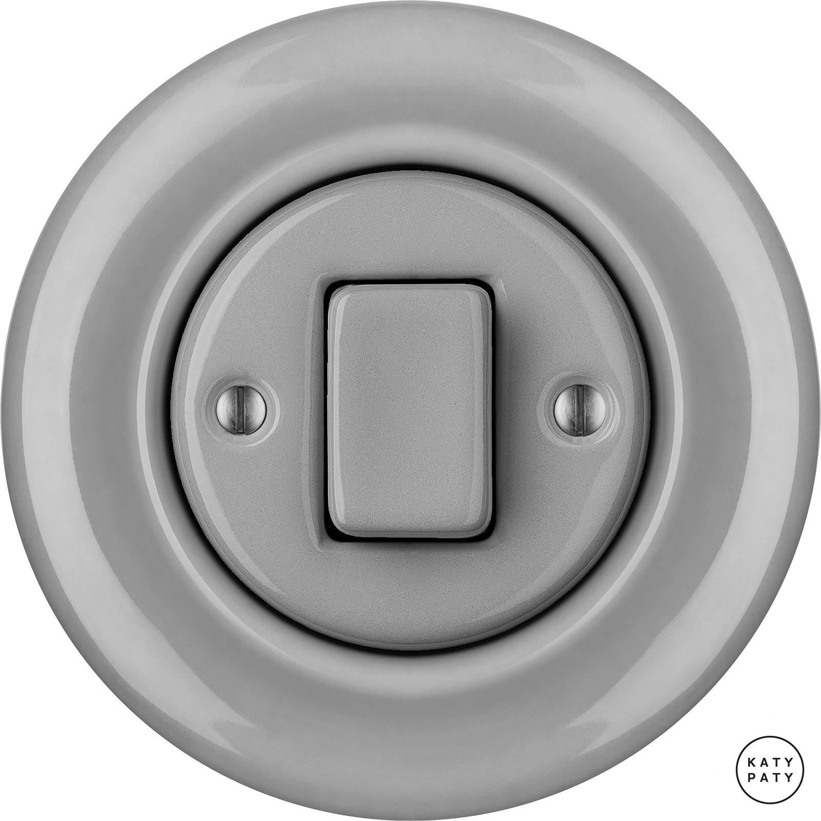 Porcelain switches - 1 key - FAT ()  - CANA | Katy Paty