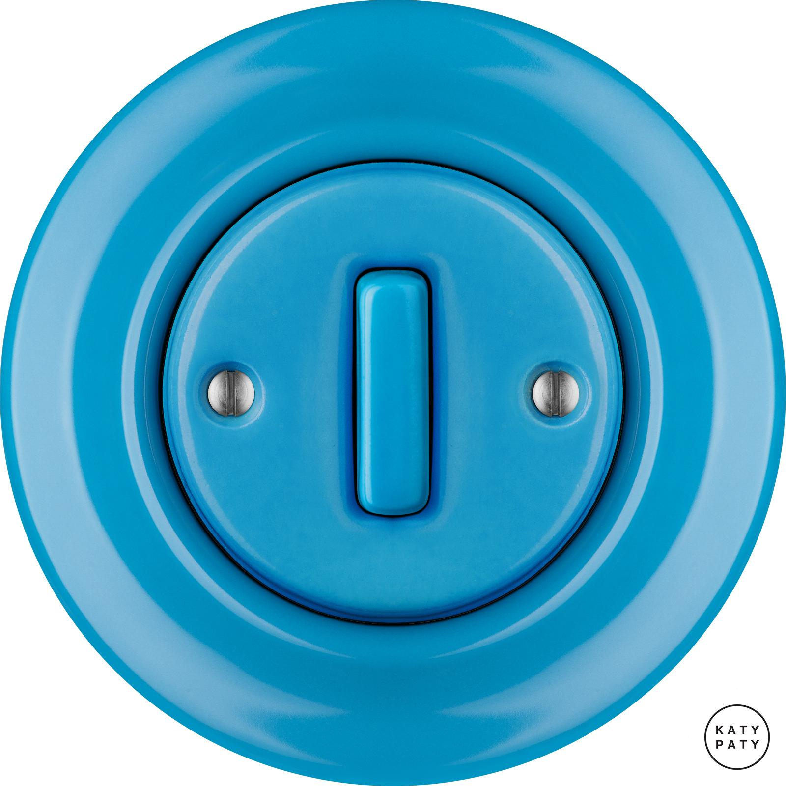 Porcelain switches - 1 gang - SLIM ()  - NITOR ARA | Katy Paty